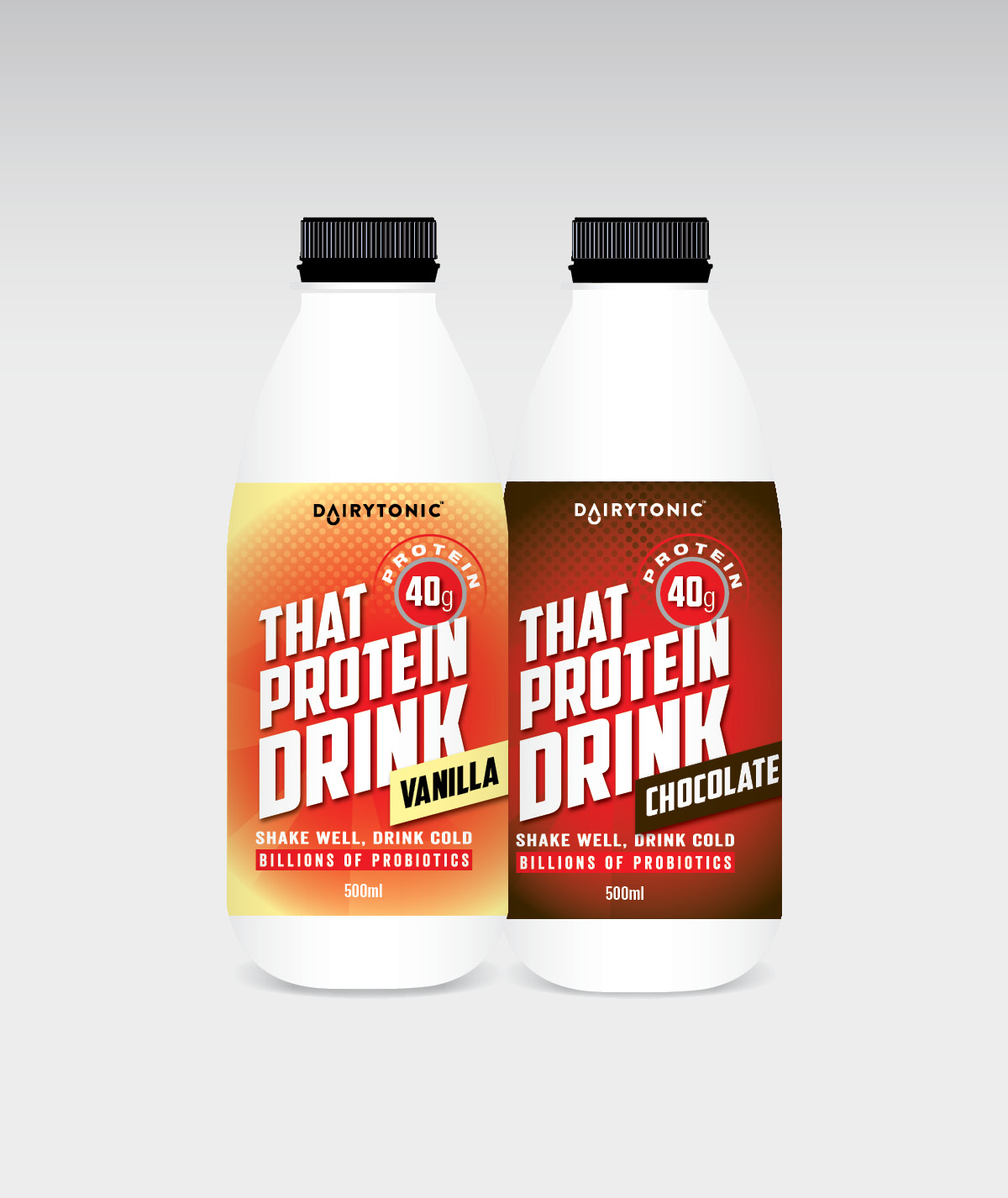 protein drink design printing dandenong melbourne